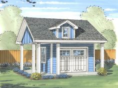 Plan 050S-0003 - Garage Plans and Garage Blue Prints from The Garage Plan Shop