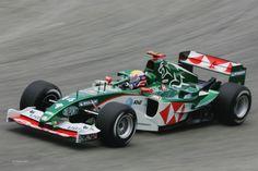 Mark Webber, Jaguar-Cosworth R5B, 2004 Brazilian GP, Sao Paulo