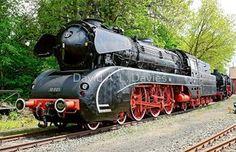 German Steam Locomotive, No. 10 001.