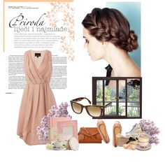 My first Polyvore! Pretty in Pink.