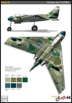 Heinkel  He  P1079B/1