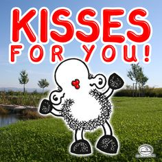 """Today it's """"International Kisses Day""""!  :)"""