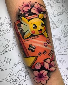 "Nicole Zulianello Tattoo no Instagram: ""gotta catch 'em all 🎏 Done at @letatuarti_tattoostudio using: @artdriver_tattoomachines @kurosumitattooink @aloetattoo @kwadron…"""