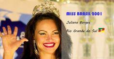 Juliana Borges Miss Brasil 2001