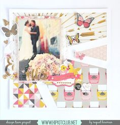 Designer @raquelp is sharing on the blog this amazing LO using the #january2016 kits featuring @mymindseyeinc My Story exclusive cut files by @nicolenowosad  #hipkits #hipkitclub #papercrafting #scrapbook #scrapbooklayout #january2016