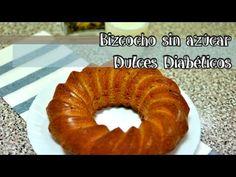 Receta de bizcocho casero sin azúcar para diabéticos   Dulces Diabéticos Onion Rings, Bagel, Diabetes, Salmon, Recipies, Deserts, Healthy Recipes, Bread, Diet
