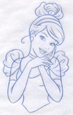 Disney Princess new redesign - Style Guide Art by Cyndy Bohonovsky, via Behance