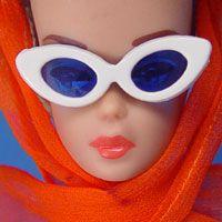 "Vinage Fashion Queen ""In-The-Swim"" Hat + Glasses"