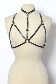 The Zana Bayne 'Harness Bra'