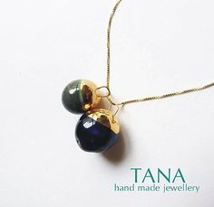 Tana / Tana šperky - keramika/zlato