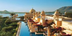 Oberoi Udaivilas. Udaipur, India. This place is insane!!!