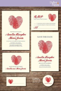 10 of our favorite simple wedding invitations!  www.theoverwhelmedbride.com