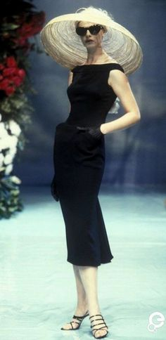 1996 Christian Dior, Spring-Summer, Couture