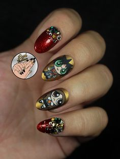 Nails of the Day: The Potterpuff Girls