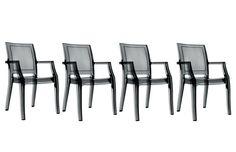 Chaises Miliboo, achat pas cher Chaise design noir translucide lot de 4 QUADRO prix promo Miliboo 479,00 € TTC Prix conseillé : 579€ soit -17%