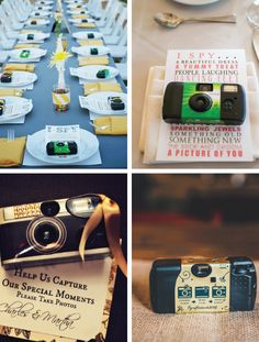 Disposable cameras may seem like a thing of the past – but this is actually an affordable photography technique of the future. Request guests shoot their own photos with cameras you provided. They will have fun with the photographic creativity, while being able to gain a different perspective of events like the first dance and cake cutting. Plan on some cameras being taken home, whether that be by accident, or to hide an embarrassing shot – it happens! Many websites now sell disposable…