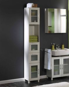 Mueble alto «Lisa» - Muebles - Baño - JYSK 190x30x30 139,95€