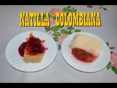 NATILLA COLOMBIANA - YouTube Cheesecake, Desserts, Recipes, Youtube, Food, Cold Desserts, Custard, How To Make, Cheesecakes