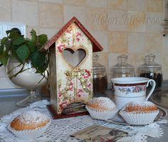 decoupage casa de té