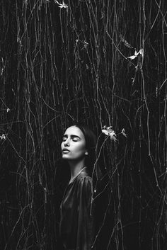 Woman Black And White Photography
