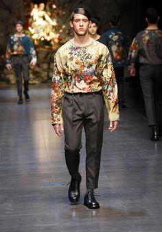 Dolce & Gabbana Fall 2013 Men Collection