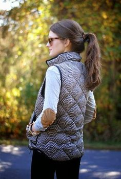 Winter Fashion With Sleeveless Jacket