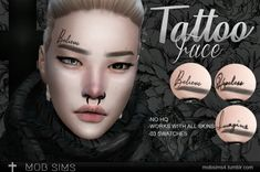 """mobsims4: """" Tattoo Face Compatible with base game"""
