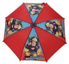Sam El Bombero Color Burn paraguas - http://comprarparaguas.com/baratos/de-colores/rojo/sam-el-bombero-color-burn-paraguas/