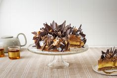 Slivovitsj torta - 24Kitchen Rudolfs Bakery, Panna Cotta, Waffles, Biscuits, Cakes, Baking, Breakfast, Ethnic Recipes, Desserts