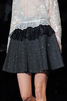 Alberta Ferretti at Milan Fashion Week Fall 2013 - StyleBistro