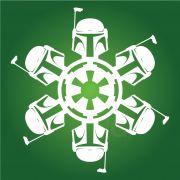 Boba Fett - Star Wars Snowflake