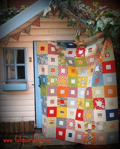 Fat Quarterly Quilt Along Quilt by ImAGingerMonkey