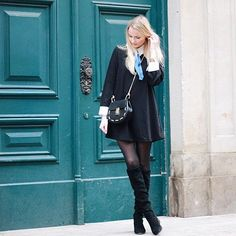 Sister Jane dress, Zara boots and FTW the shop bag