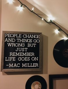 people change and things go wrong but just remember life goes on - mac miller Mood Quotes, Positive Quotes, Motivational Quotes, Inspirational Quotes, Gratitude Quotes, The Words, Cool Words, Pretty Words, Beautiful Words