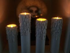 Unique DIY PVC Candles Nightmare Before Christmas Halloween Props