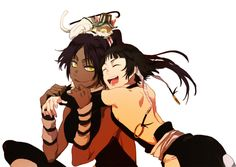 Bleach - Yoruichi and Soi Fon