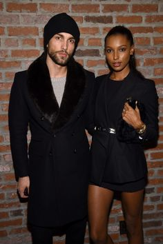Tobias Sorensen and Jasmine Tookes attend IMG Models Celebrates The Sports Illustrated, Swimsuit issue at Vandal on February 15, 2016 in New York City.