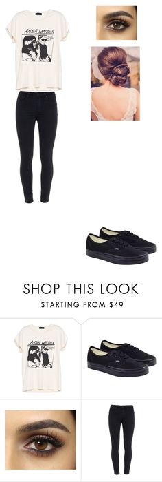 """""""Untitled #97"""" by hazzalove420 on Polyvore featuring Vans and Paige Denim"""
