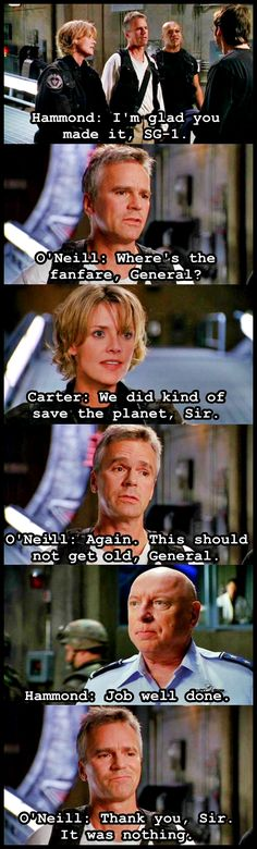 Small Victories Season 4 Episode 1. This one wax funny! Love stargate!