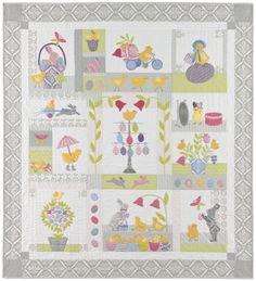 Chick Jubilee Easter Quilt