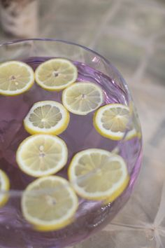 Lavender and lemon cocktail | Laura Hernandez Photography | see more on: http://burnettsboards.com/2014/05/adorable-watercolor-ranch-wedding/