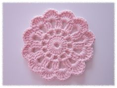 Diy Crochet Doilies, Crochet Home, Crochet Gifts, Crochet Motif, Crochet Yarn, Crochet Flowers, Crochet Patterns, Crochet Teddy Bear Pattern, Crochet Fashion
