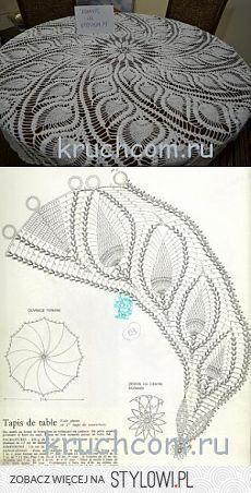 Crochet doilies free pattern runners lace tablecloths 35 Ideas for 2019 Crochet Tablecloth Pattern, Free Crochet Doily Patterns, Crochet Doily Diagram, Crochet Motif, Crochet Designs, Free Pattern, Knitting Patterns, Diy Crafts Crochet, Crochet Art