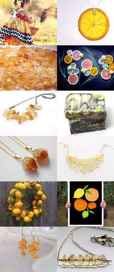 ~citrus~ by Bekka on Etsy--Pinned with TreasuryPin.com
