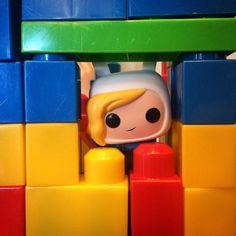 #adventuretime #kidarchitecture #blocks #fionaandcake @mydaughtertheartist by erch_prime