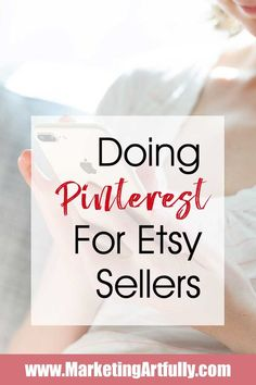 Pinterst for Etsy Marketing Etsy Business, Craft Business, Creative Business, Business Tips, Online Business, Business Journal, Business Opportunities, Business Planning, Design Café
