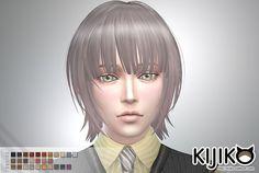 Kijiko Sims: Bob with Straight Bangs for him  - Sims 4 Hairs - http://sims4hairs.com/kijiko-sims-bob-with-straight-bangs-for-him-2/