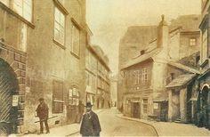 stará Maiselova pohled směrem ke Staroměstskému náměstí