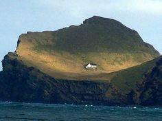 La única casa una de las islas de #Islandia #Iceland