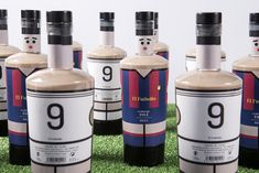 El Futbolín / Table Football on Packaging of the World - Creative Package Design Gallery Table Football, Limited Edition Packaging, Wine Design, Packaging Design Inspiration, Rum, Liquor, Vodka, Alcoholic Drinks, Creative Package